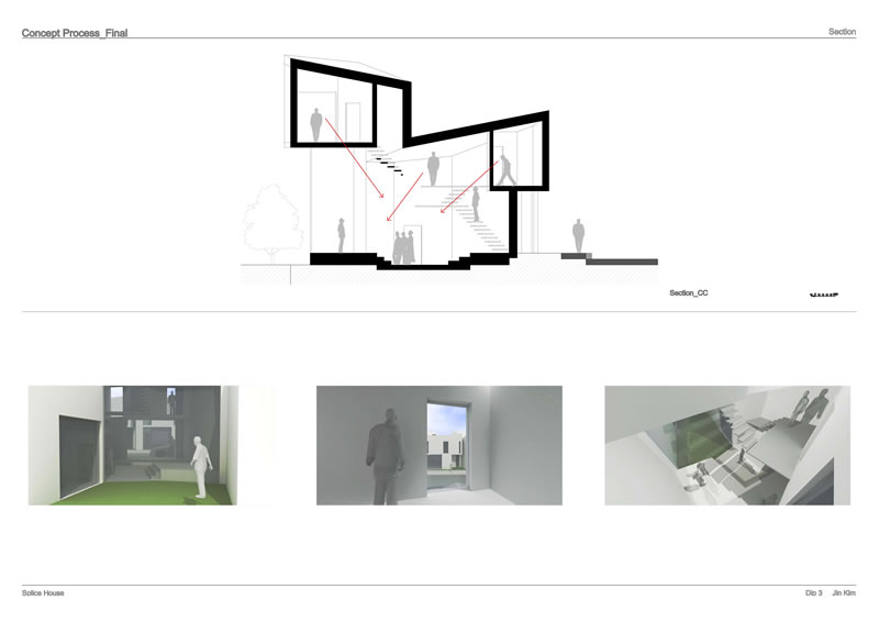 Concept House Section