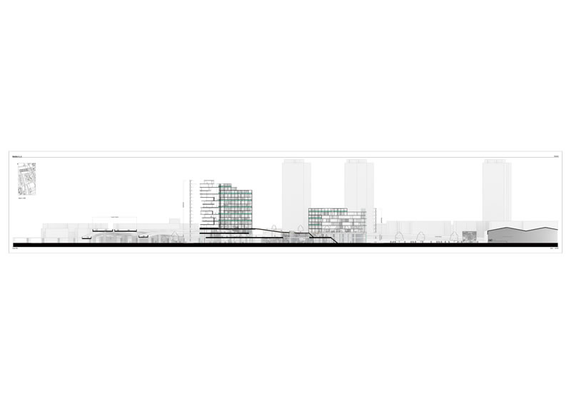 High Density Housing Section