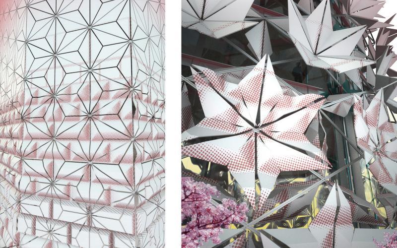 Folding Porcelain Facade