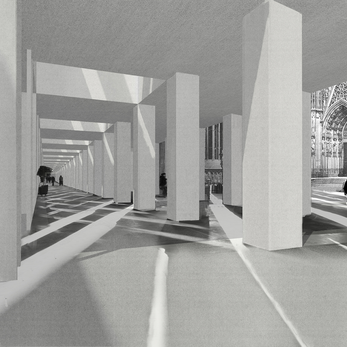 Projects review 2010 diploma 14 simon whittle for Enfilade architecture
