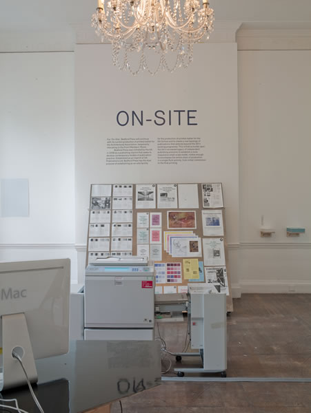 On-site exhibition