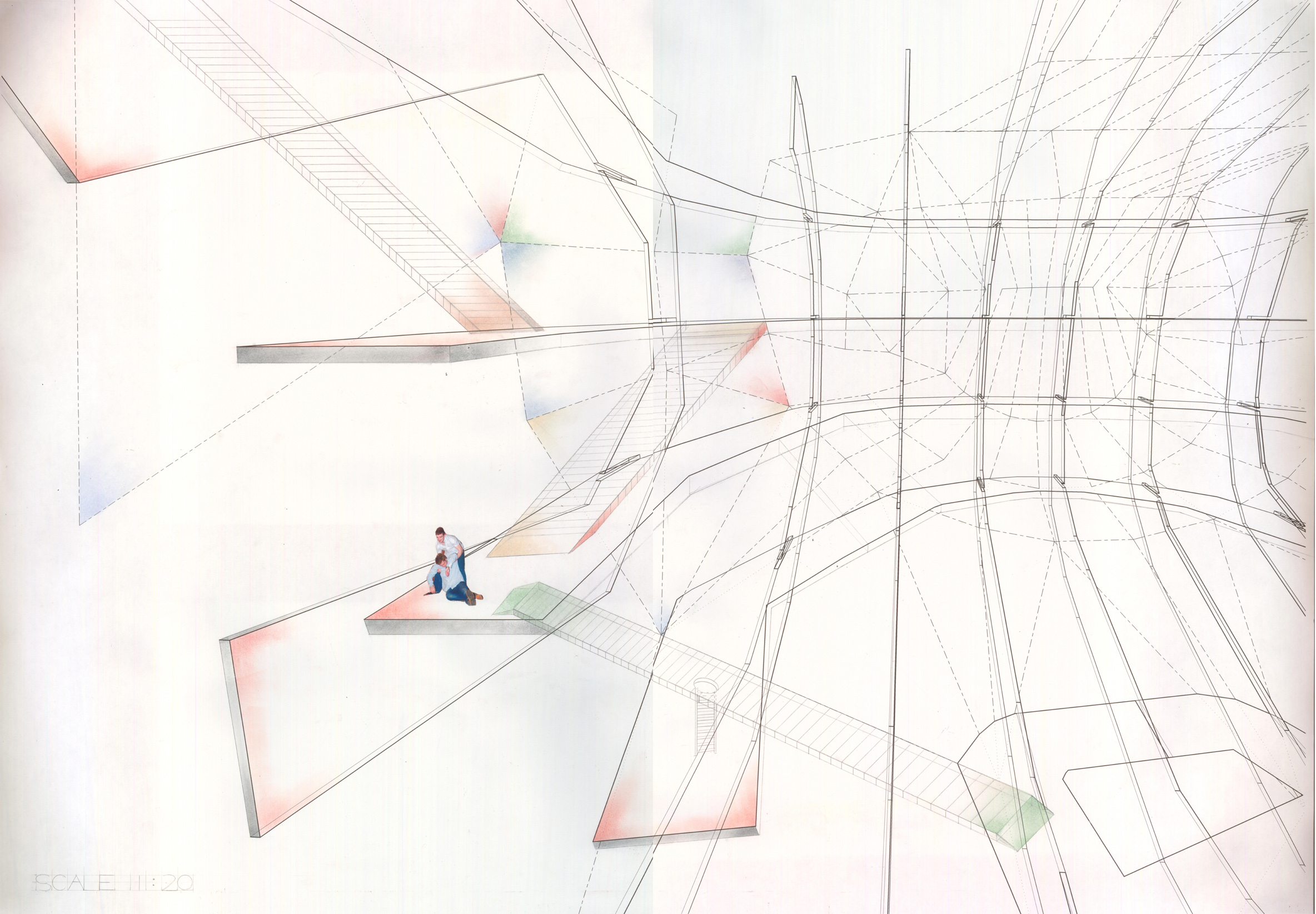 Projects review 2010 first year akhil bakhda for Full size architectural drawings